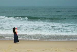 H&M at the beach