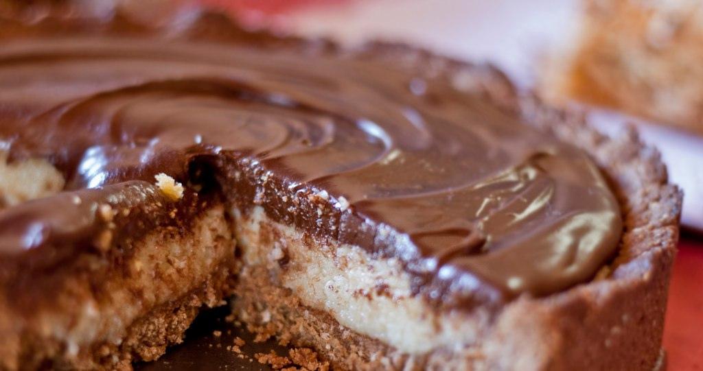 tarte manteiga de amendoím (ou snickers)